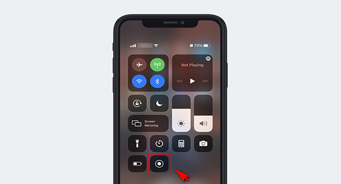 Record Facebook video on iPhone