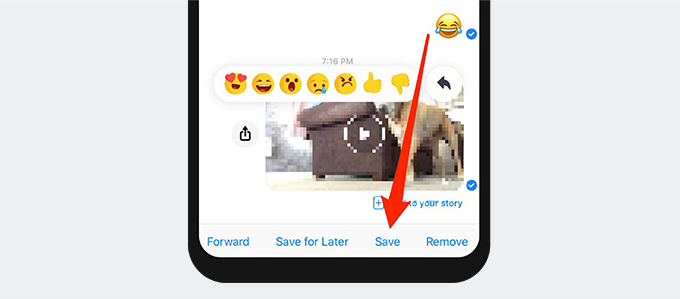 Save videos from Facebook Messenger on iPhone