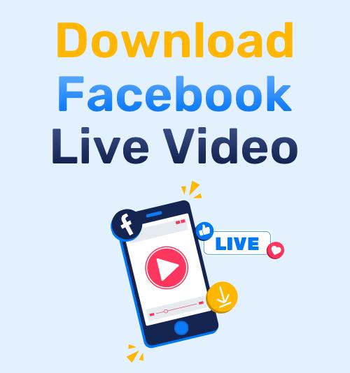 Laden Sie das Facebook Live Video herunter