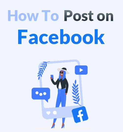 So posten Sie auf Facebook