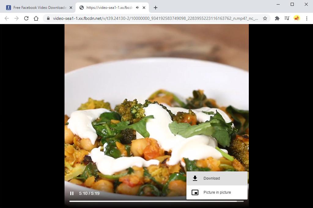 Speichern Sie Facebook-Video auf MP4 online