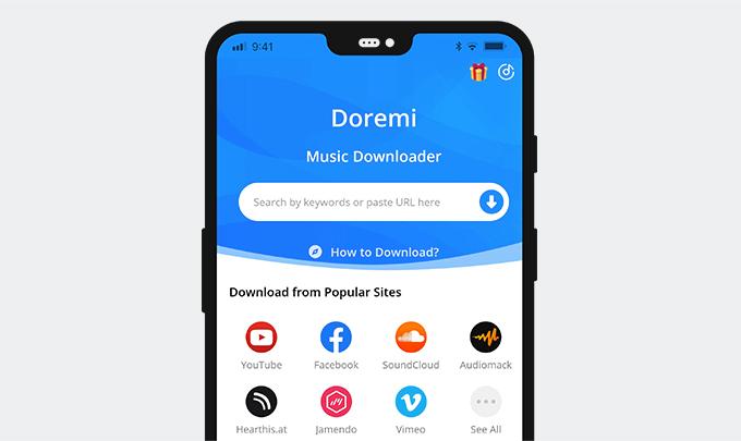 DoremiZone Music Downloader