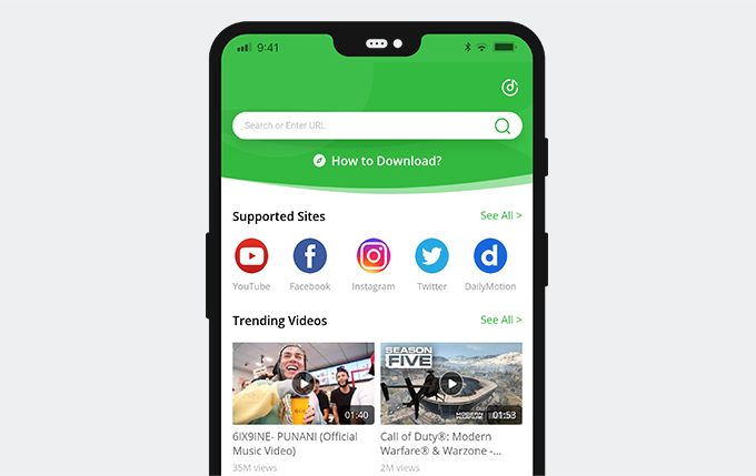 Download private Facebook video on Android