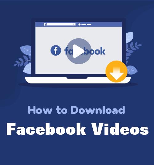 Wie man Facebook Videos herunterlädt