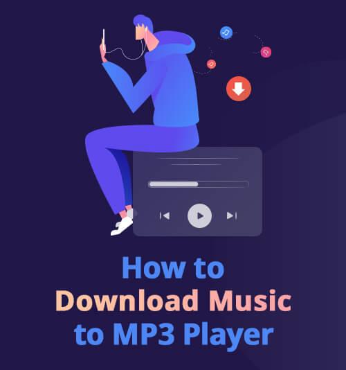 wie man Musik auf MP3-Player herunterlädt