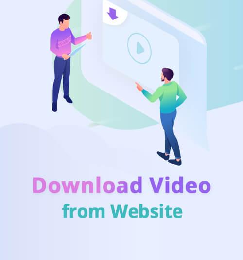 قم بتنزيل الفيديو من موقع الويب