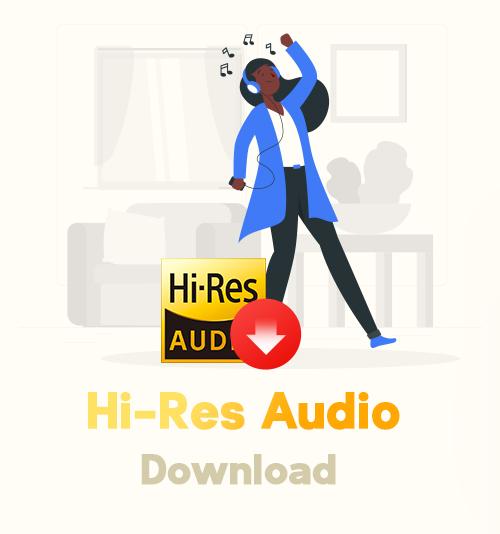 hochauflösender Audio-Download