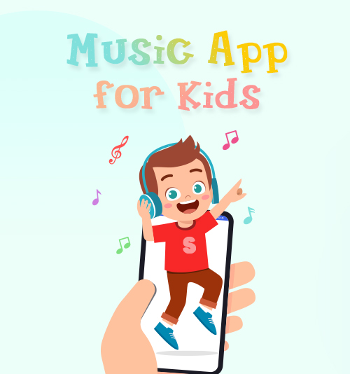 子供のための音楽アプリ