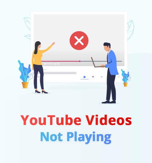 لا يتم تشغيل مقاطع فيديو YouTube