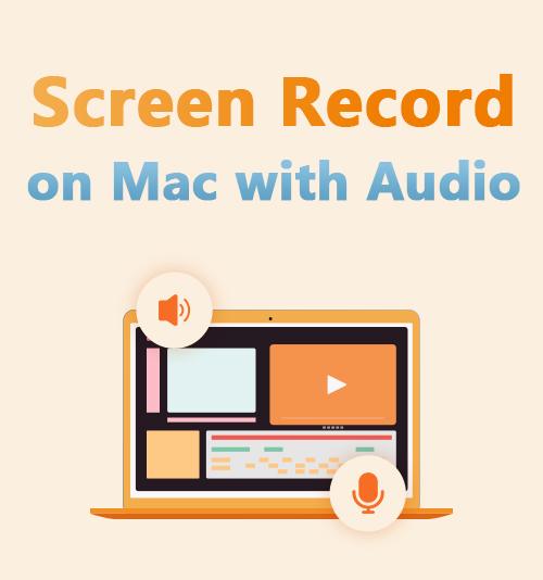 تسجيل الشاشة على Mac بالصوت
