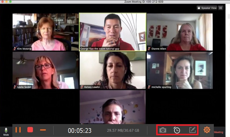 Record the Zoom meeting without permission