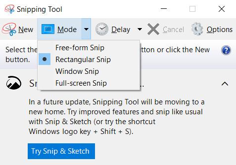 Machen Sie einen Screenshot auf einem HP Laptop Windows 10