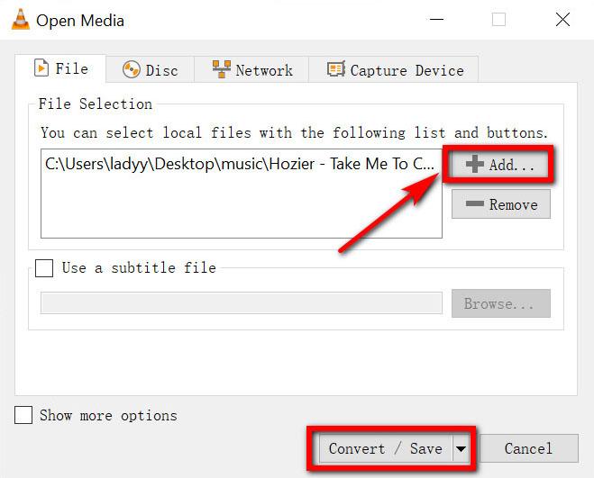 قم بتحويل ملف WMA إلى MP3 بواسطة VLC