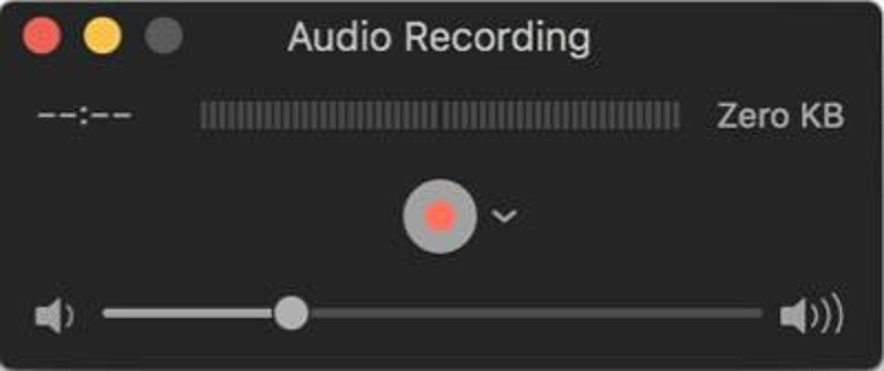 Record Discord audio with QuickTime Player