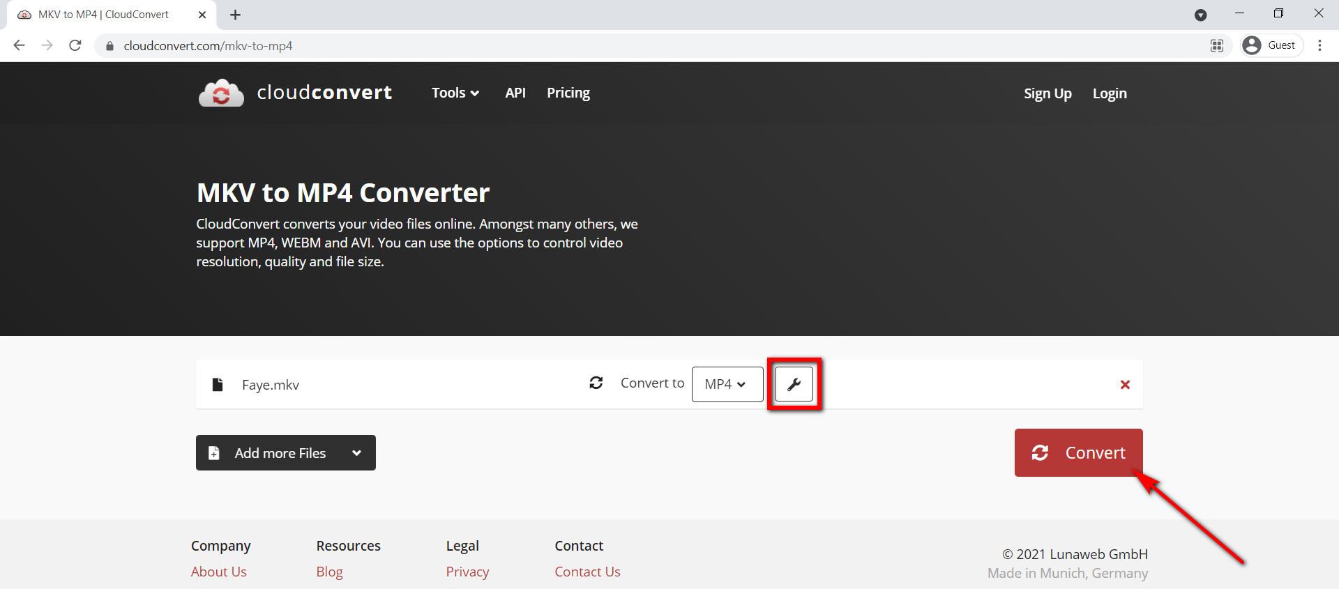 استخدم CloudConvert لتحويل MKV إلى MP4 عبر الإنترنت مجانًا