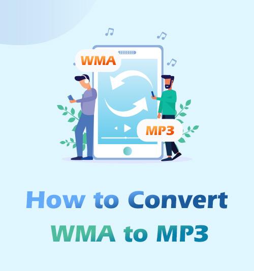 كيفية تحويل WMA إلى MP3