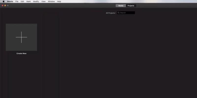 iMovie – bester kostenloser Videoeditor auf dem Mac