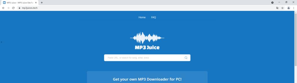 MP3Juice MP3 finder online