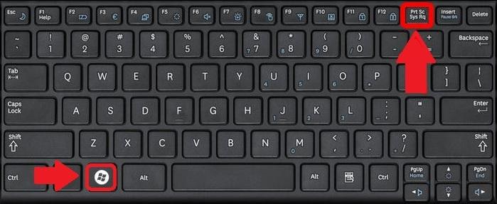 التقط لقطة شاشة على جهاز الكمبيوتر المحمول ASUS