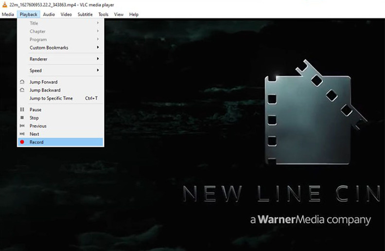 VLC - video capture software for Windows 10